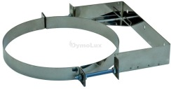 Хомут настінний для димоходу з нержавіючої сталі Ø110 мм 0 - 100 мм товщина 0,6 мм