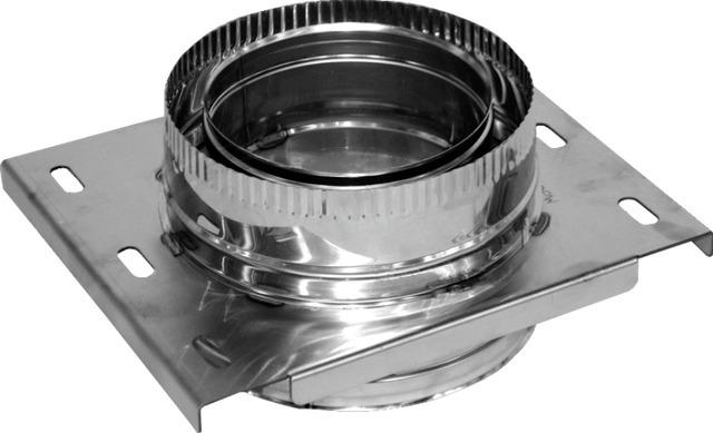 Платформа розвантажувальна з нержавіючої сталі Ø120/180 мм товщина 0,6 мм