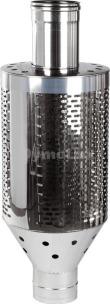Труба під каміння димохідна з нержавіючої сталі Ø120 мм товщина 0,8 мм