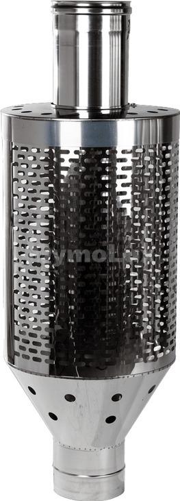 Труба під каміння димохідна з нержавіючої сталі Ø130 мм товщина 1 мм