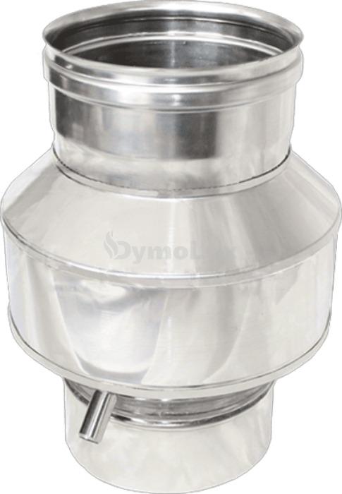 Конденсатозбірник для димоходу з нержавіючої сталі Ø110 мм