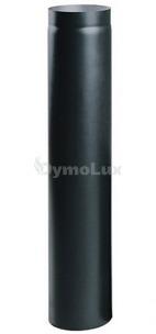 Труба димохідна з низьколегованої сталі Версія Люкс 1 м Ø130 мм товщина 2 мм