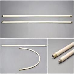 Комплект гибких ручек для щетки для чистки дымохода Hansa 1 м x 6 шт белые. Фото 2