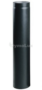 Труба димохідна з низьколегованої сталі Версія Люкс 0,5 м Ø150 мм товщина 2 мм