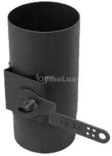 Регулятор тяги з низьколегованої сталі Версія Люкс Ø120 мм товщина 2 мм
