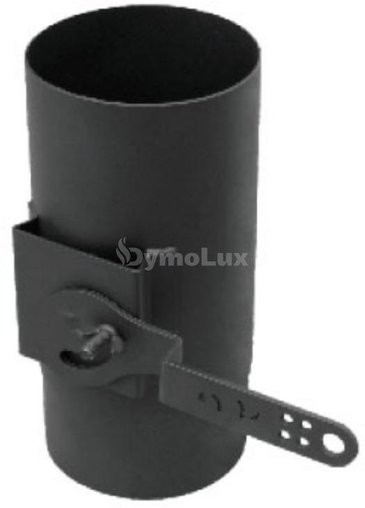 Регулятор тяги з низьколегованої сталі Версія Люкс Ø160 мм товщина 2 мм