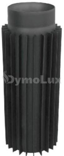 Труба-радіатор димохідна з низьколегованої сталі Версія Люкс 0,5 м Ø120 мм товщина 2 мм