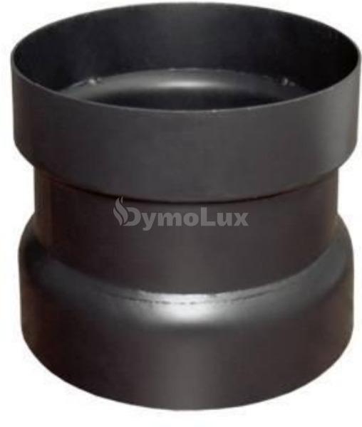Димохідний з'єднувач антиконденсаційний з низьколегованої сталі Bertrams Ø200 мм товщина 2 мм