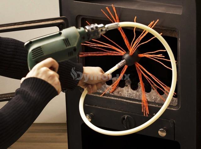 Роторний набір для чищення димоходу Hansa Tornado (1 м x 5 шт). Фото 4