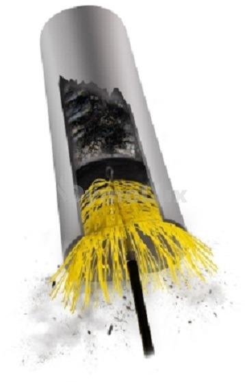 Універсальна щітка для чищення димоходу Hansa. Фото 3