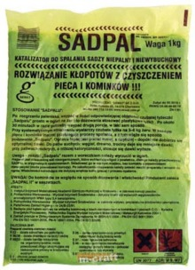 Порошок для чищення димоходів Sadpal