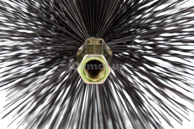 Щітка (йорж) металева для чищення димоходу Savent 100 мм. Фото 6