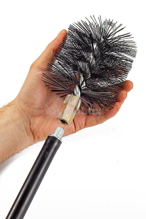 Щітка (йорж) металева для чищення димоходу Savent 110 мм. Фото 7