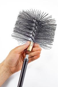Щітка (йорж) металева для чищення димоходу Savent 160 мм. Фото 7
