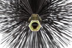 Щітка (йорж) металева для чищення димоходу Savent 220 мм. Фото 6