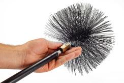 Щітка (йорж) металева для чищення димоходу Savent 220 мм. Фото 7