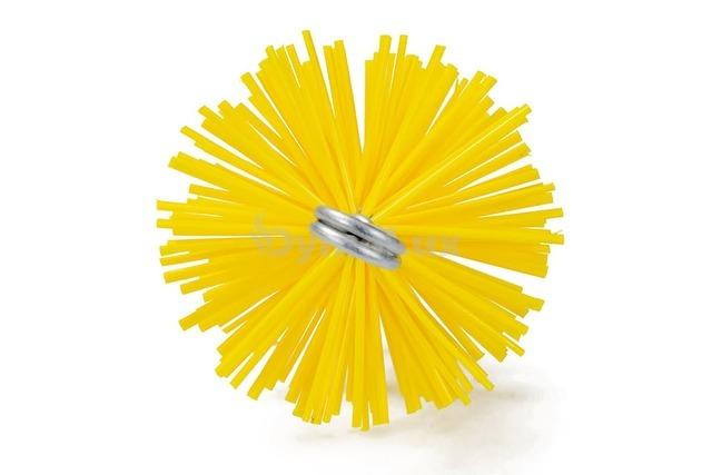 Щітка (йорж) пластикова для чищення димоходу Savent 100 мм. Фото 2