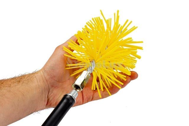 Щітка (йорж) пластикова для чищення димоходу Savent 130 мм. Фото 6
