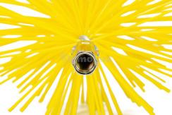 Щітка (йорж) пластикова для чищення димоходу Savent 130 мм. Фото 4