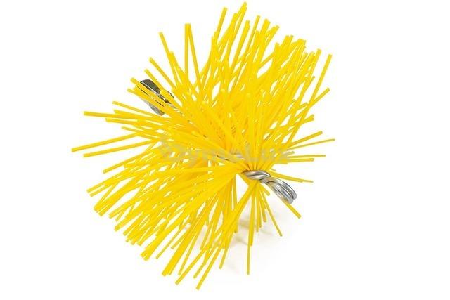 Щітка (йорж) пластикова для чищення димоходу Savent 220 мм. Фото 3