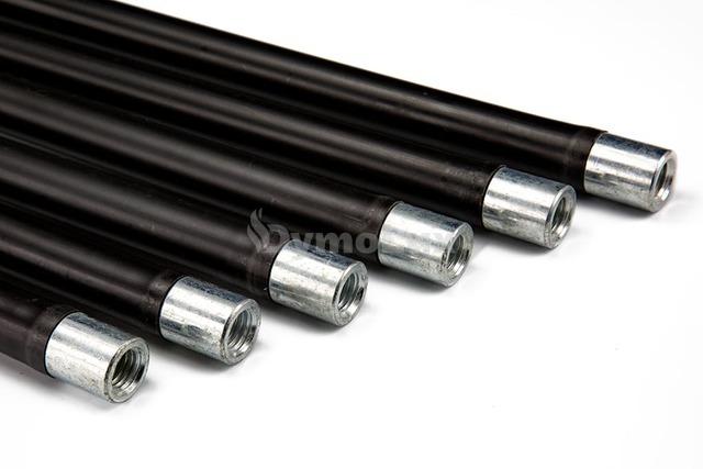 Комплект гнучких ручок палок для чищення димоходу Savent 1,4 м х 6 шт. Фото 2