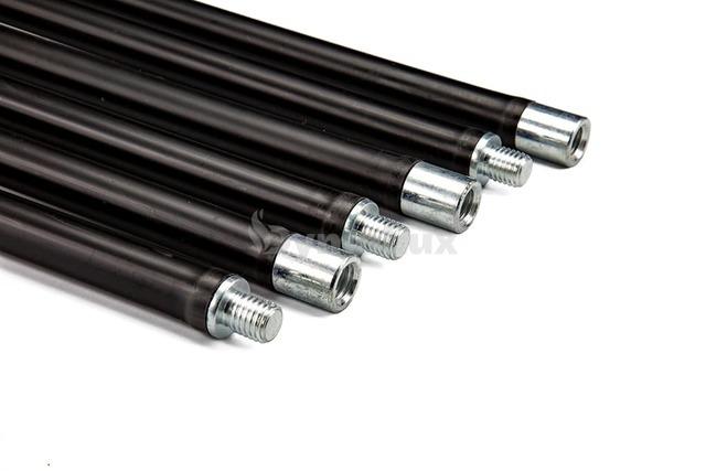 Комплект гнучких ручок палок для чищення димоходу Savent 1,4 м х 6 шт. Фото 3
