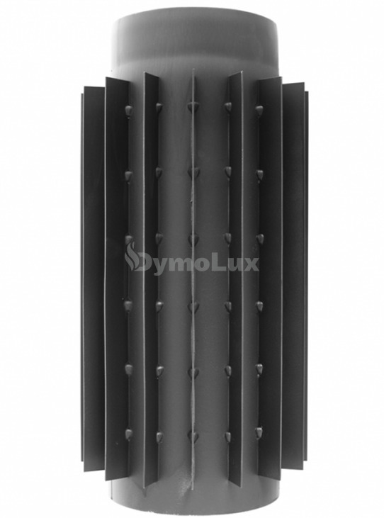 Труба-радіатор з низьколегованої сталі Darco 0,5 м Ø130 мм товщина 2 мм