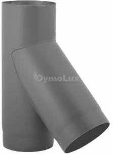 Трійник з низьколегованої сталі Darco 45° Ø130 мм товщина 2 мм
