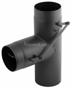 Тройник из низколегированной стали Darco 90° двухприточный Ø160 мм толщина 2 мм