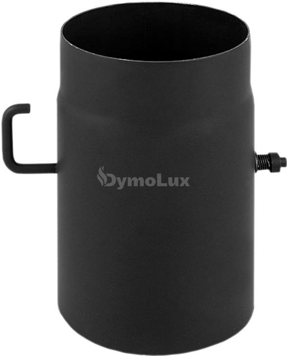 Шибер димохідний з низьколегованої сталі Darco Ø160 мм товщина 2 мм