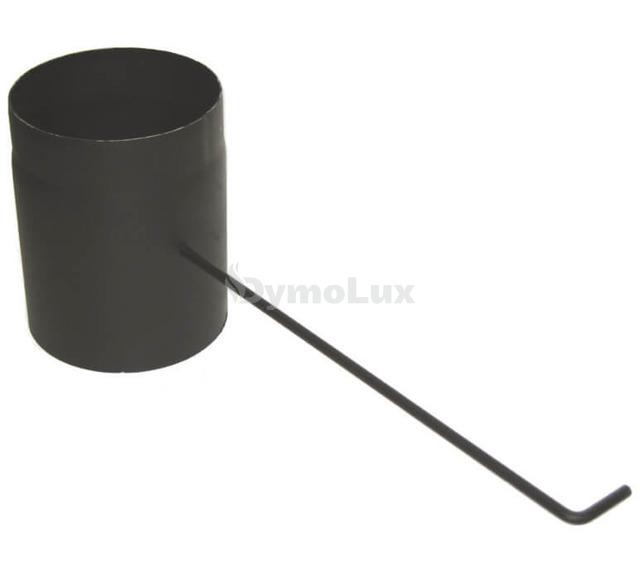 Шибер димохідний з низьколегованої сталі Darco Ø180 мм товщина 2 мм