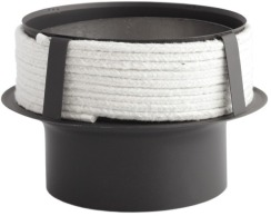 Переходник из низколегированной стали Darco к керамическому дымоходу Ø180/150 мм толщина 2 мм