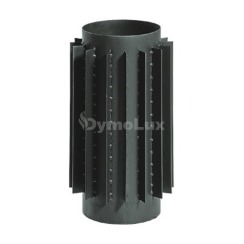 Труба-радіатор з низьколегованої сталі Kaiser Pipes 0,5 м Ø200 мм товщина 2 мм