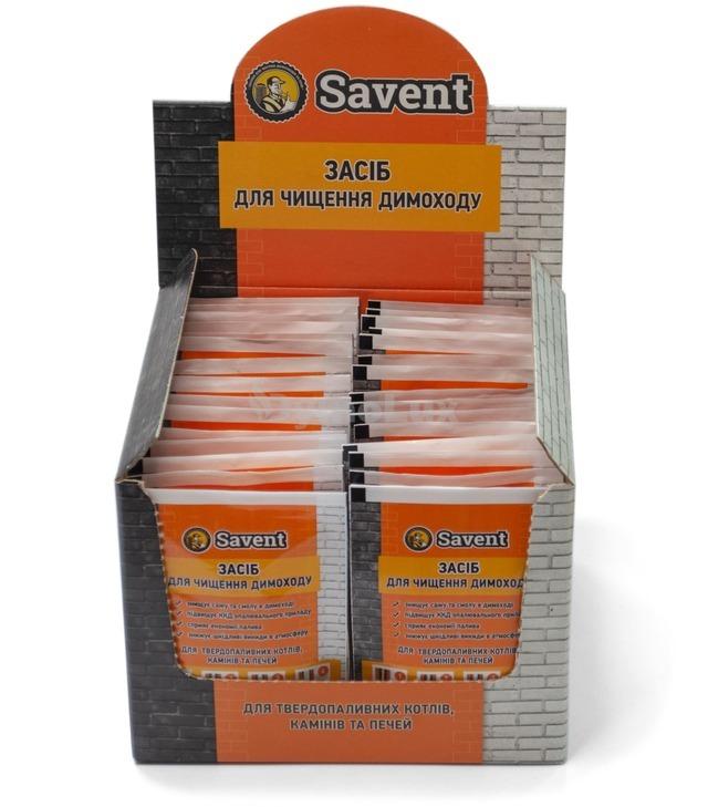 Засіб для немеханічної чистки димоходів Savent 1 кг (25 шт х 40 г). Фото 2