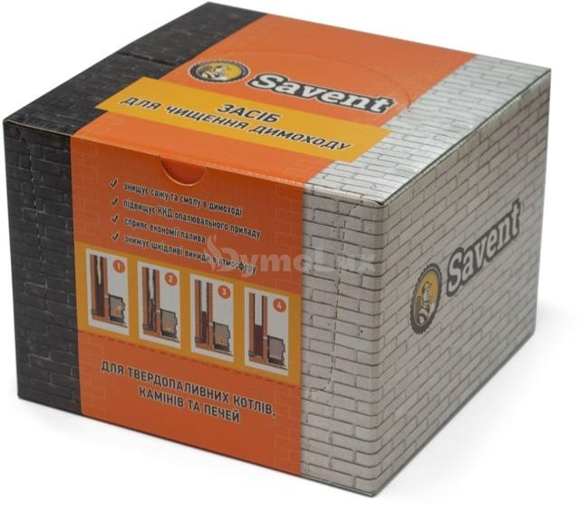 Засіб для немеханічної чистки димоходів Savent 1 кг (25 шт х 40 г). Фото 3