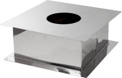 Прохід через перекриття для димоходу з нержавіючої сталі Ø120 мм товщина 0,6 мм