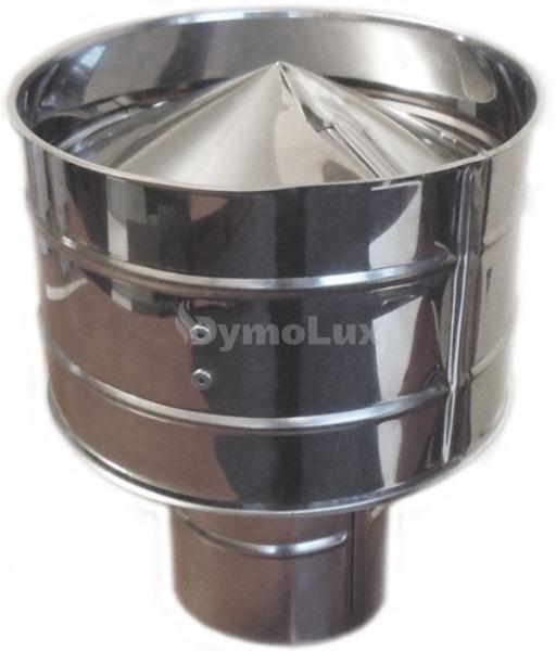 Дефлектор димохідний з нержавіючої сталі Ø140 мм товщина 0,6 мм