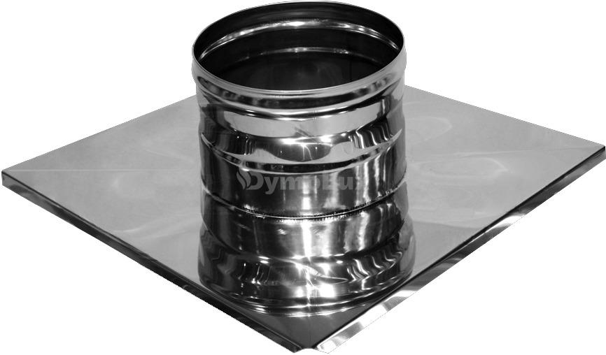 Закінчення димохідне з нержавіючої сталі Ø125 мм товщина 0,6 мм