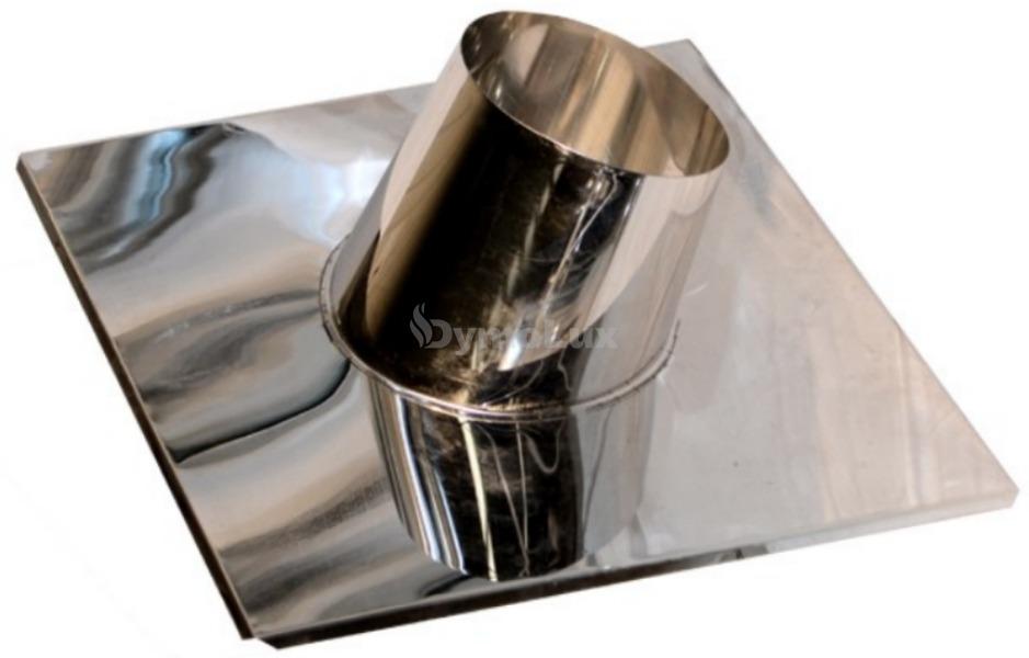 Криза димохідна 15°-30° з нержавіючої сталі Ø120 мм товщина 0,6 мм