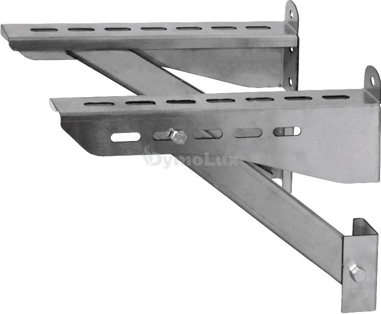 Кронштейн для димоходу з нержавіючої сталі 800 мм товщина 2 мм