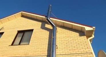 Как установить дымоход из нержавеющей стали